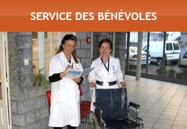 Service des bénévoles