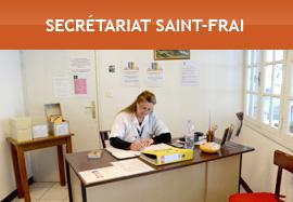 Secrétariat Saint-Frai