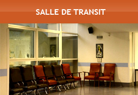 Salle de transit