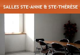 Salles Sainte-Anne et Sainte-Thérèse